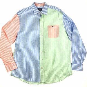 Vineyard Vines Tucker Linen Shirt L